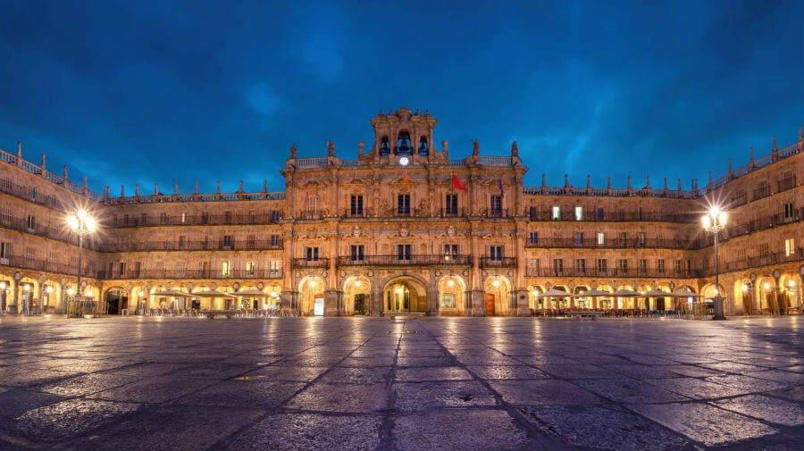 Plaza Mayor de Salamanca - Vía de la Plata :: Guía del Camino de Santiago