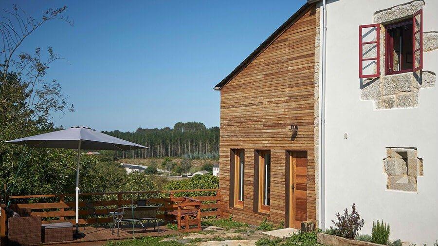Albergue Parga Natura Alojamiento, Parga, La Coruña - Camino del Norte :: Albergues del Camino de Santiago