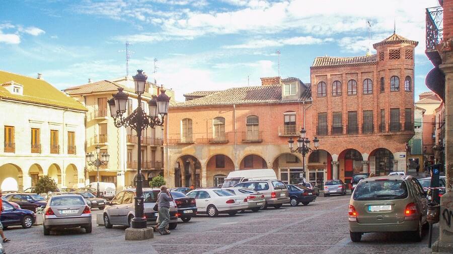 Plaza Mayor de Benavente, Zamora - Vía de la Plata :: Guía del Camino de Santiago