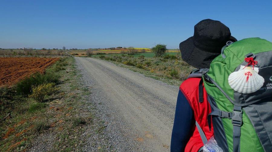 Un peregrino en solitario camino de Santiago de Compostela :: Guía del Camino de Santiago